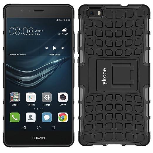 29 opinioni per Cover Huawei P8 Lite, ykooe (TPU Serie) Huawei P8 Lite Doppio Strato ibrido