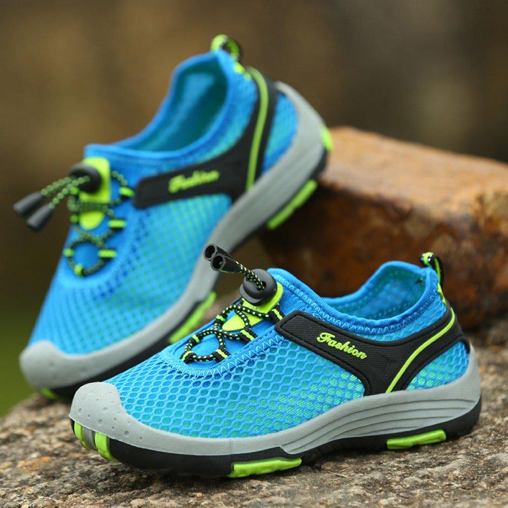 Esterni Mesh Traspirante Sneakers Casual Ragazzo Bambina Estive Scarpe da  Trekking Running Sandali Antiscivolo ingrandisci 62c923ad6b6