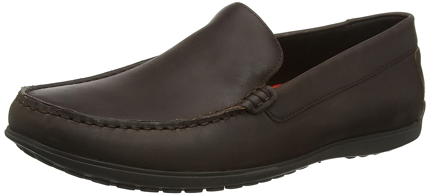 Rockport Bayley Venetian Dark Brown, Mocasines para Hombre