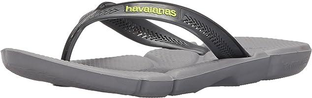 Havaianas Men's Power Flip Flop Sandals, Comfort Designed Footbed, Grippy Outsole