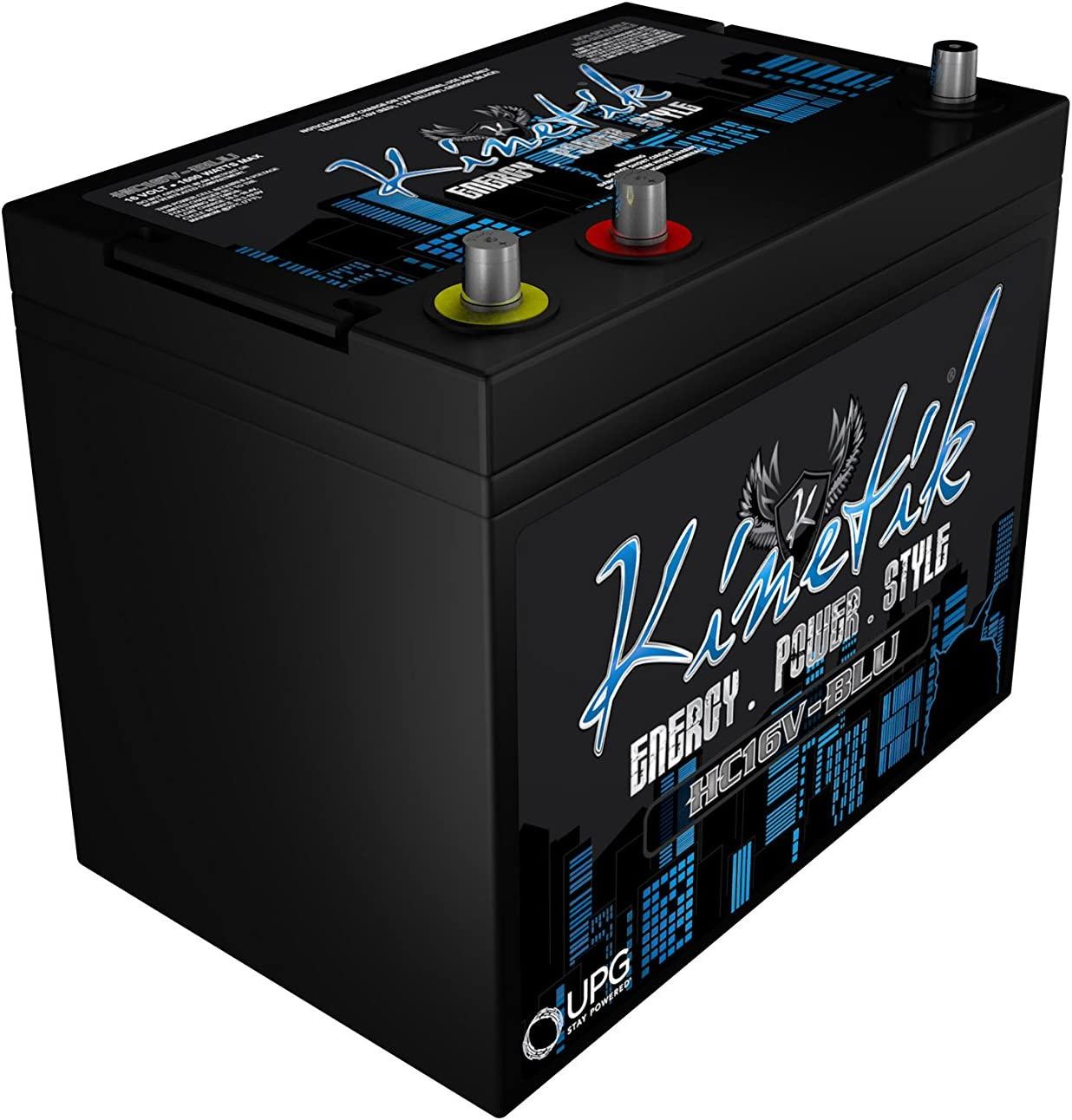 Kinetik Black Power Cell Battery HC1800-BLU