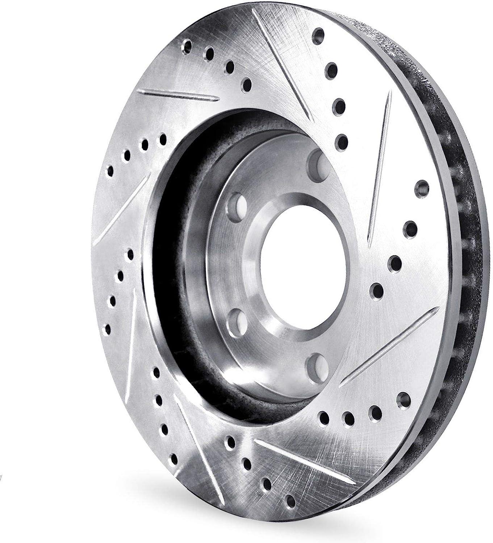 Ceramic Pads For 2016-2019 Chevrolet Cruze,Volt,Bolt EV Front Rear Brake Rotors Kit