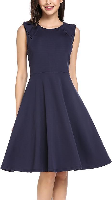 billiger Verkauf große sorten eine große Auswahl an Modellen Zeagoo Damen Elegante Sommerkleider Cocktail Partykleid Festlich ...