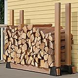 Amazon Com Panacea 15211 Log Rack Bracket Black Log