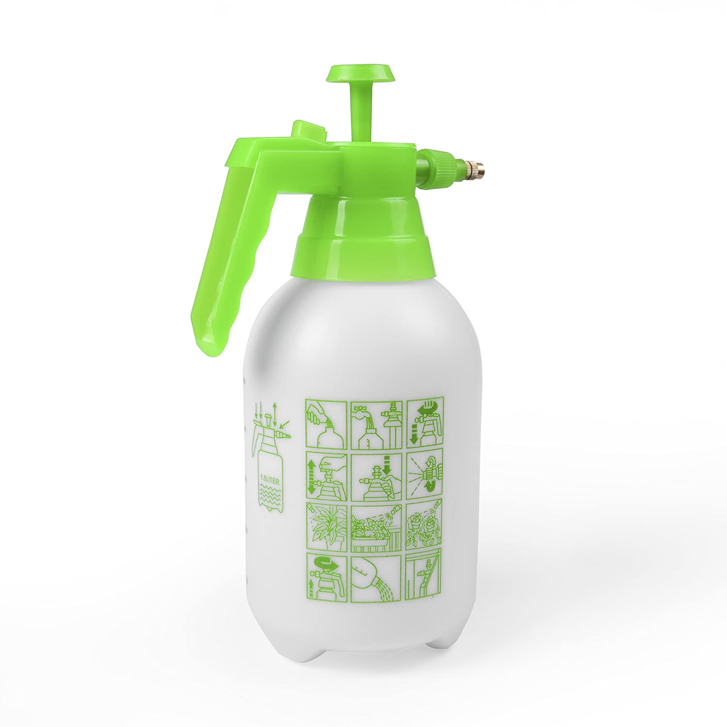 ... Hand Pump Garden Sprayer   Handheld Pressure Sprayers Sprays Water,  Chemicals, Pesticides, Neem Oil And Weeds   Perfect Lightweight Water Mister,  ...