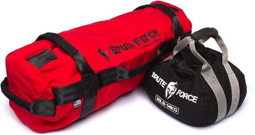 Brute Force – Bolsas de arena para fitness y entrenamiento, con pesos ajustables – Fabricadas en Estados Unidos