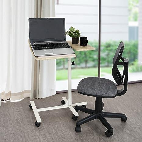 WarmCentre Tavolino per laptop con carrello avvolgibile, PC da ...