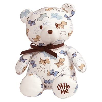 "Baby GUND x Little Me Cute Puppies Teddy Bear Stuffed Animal Plush, 10"": Toys & Games"