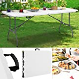 Table camping buffet traiteur pliante portable