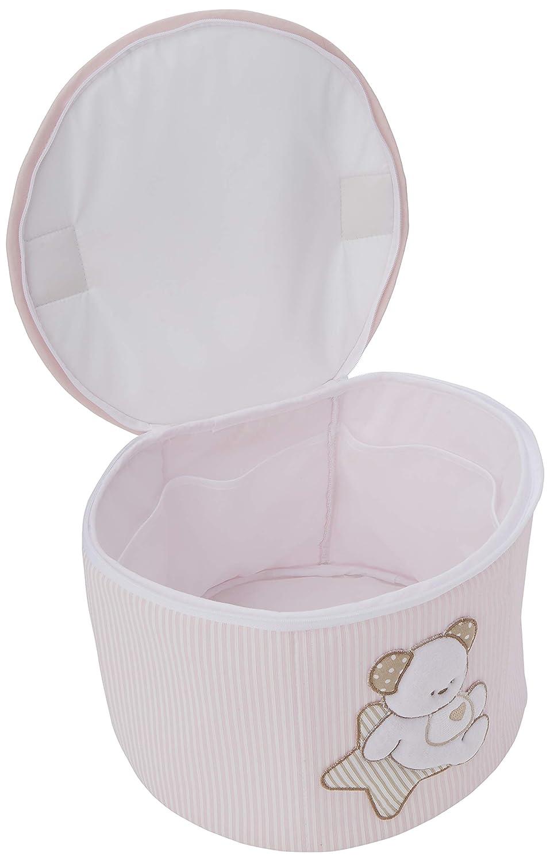 Pink ITALBABY Sweet Star rund Beauty Case