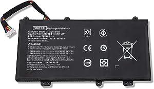 Amanda SG03XL Battery Replacement for HP Envy M7-U M7-U009DX 17t-U000 17-U011NR Series Laptop 849315-850 849049-421 TPN-I126 HSTNN-LB7F HSTNN-LB7E SG03061XL 11.55V 5150mAh/61.6Wh