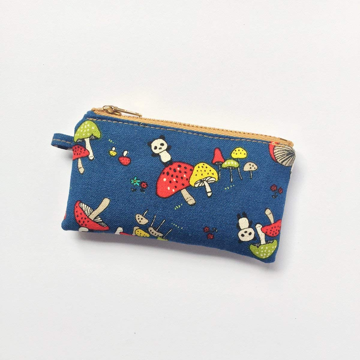 Panda Key Purse • Coin Pouch, Pocket Purse, Mini Zipper