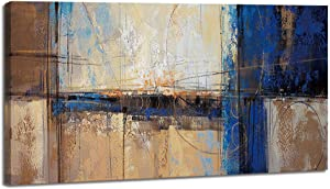 Abstract Canvas Wall Art Painting Picture Print for Living Room Large Decoration Modern Wall Decor Artwork Home Bedroom Dining Room Salon Themed Wall Art 20x40in set (20x40inch)