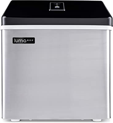 Luma Comfort Portable Clear Ice Maker 28 lb Daily