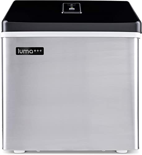 Luma-IM200SS-Comfort-Portable-Clear-Ice-Maker