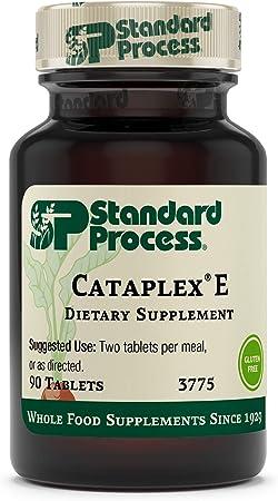 Standard Process Cataplex E - Whole Food RNA Supplement and Antioxidant with D-Alpha Tocopherol Vitamin E, Beet Root, Ascorbic Acid, Inositol, Selenium, and Honey - 90 Tablets