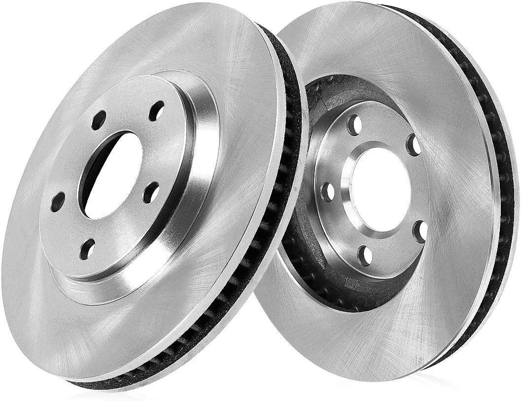 Rotors w//Ceramic Pads OE Brakes Front 2004 05 06 07 2008 Pacifica