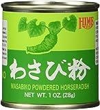 Hime Powdered Wasabi (Japanese Horseradish) - 1 oz.
