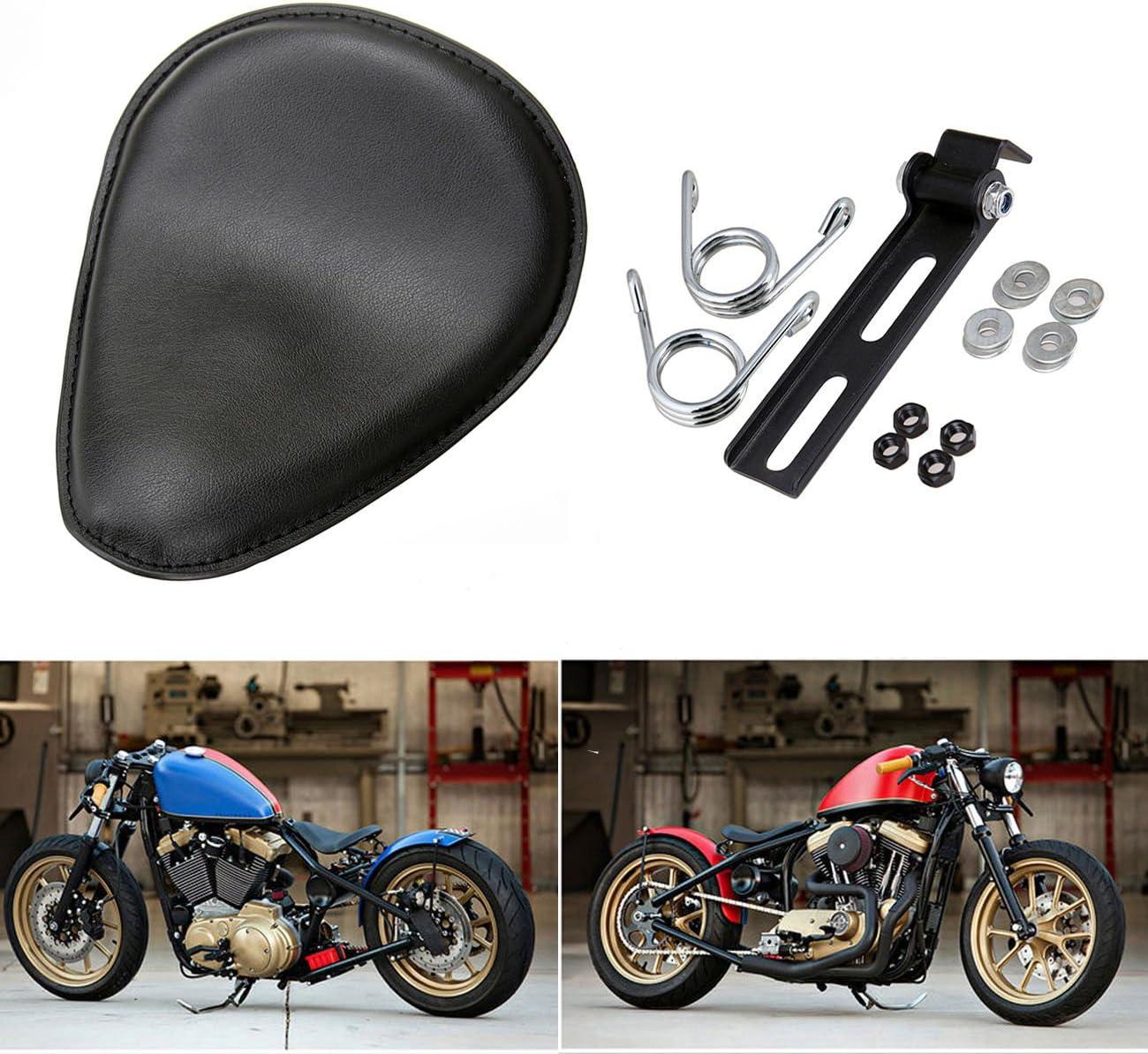 Solo Seat 3 INCH Springs Mounting Bracket Kit For Harley Bobber Chopper Custom
