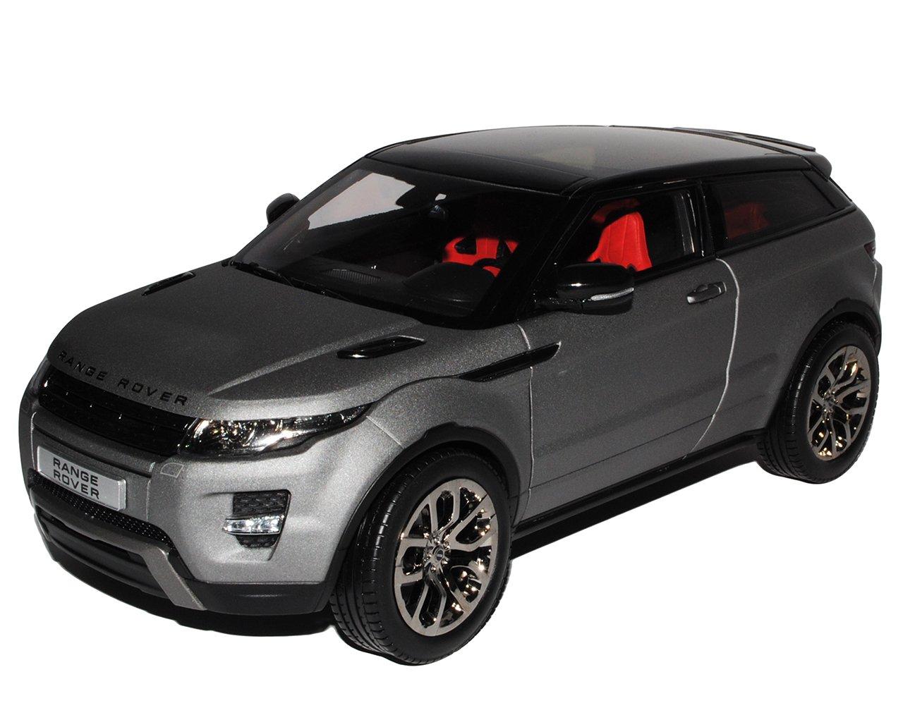 GTA Welly Land Rover Range Rover Evoque 3 Türer Matt Grau Ab 2011 1/18 Modell Auto