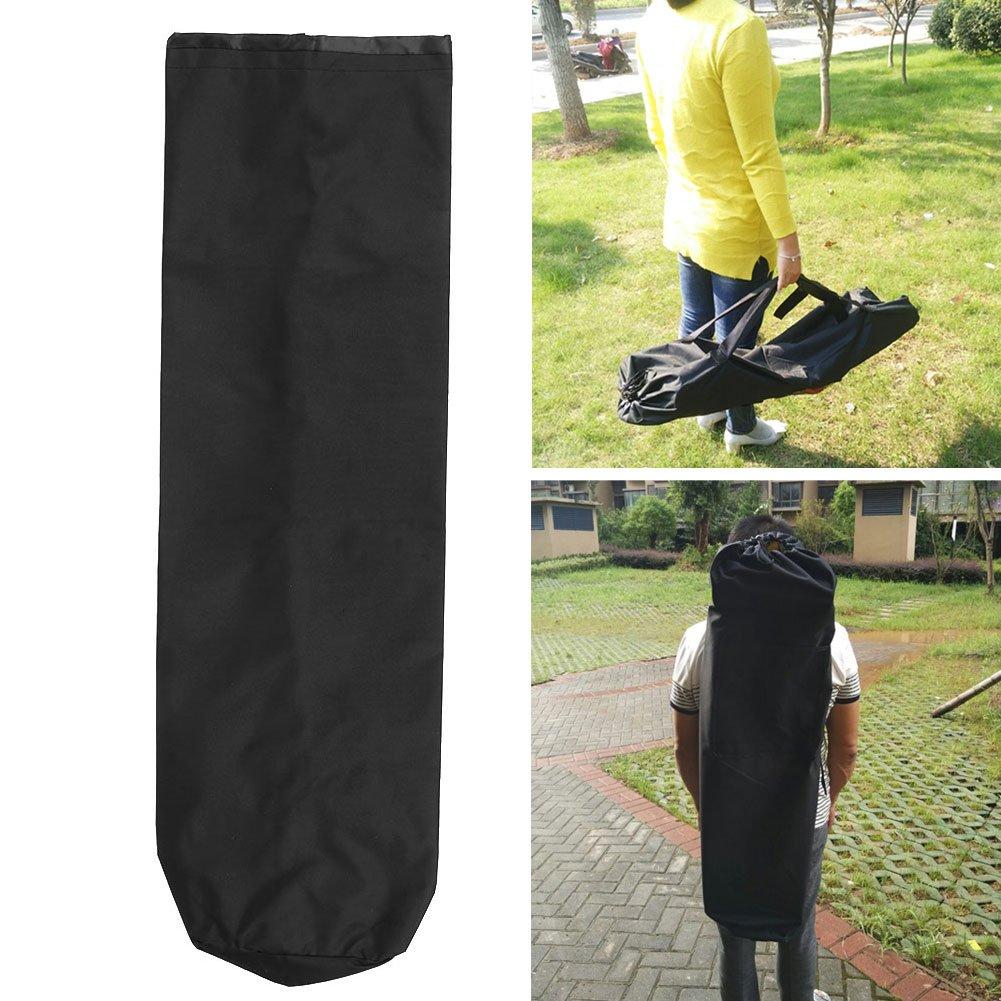 Forfar Travel Deck Skateboard Waterproof Bag Skateboard Longboard Nylon Sporting Waterproof Carrying Black Bag Backpack