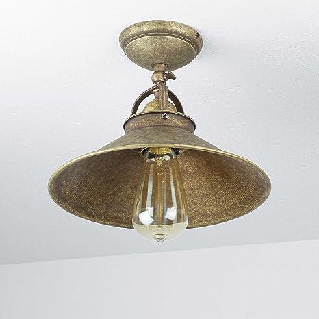 Pendelleuchte 2-flammig industrial Messing Deckenlampe schwenkbare Lampen E27