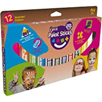 Little Brian LBFPS06CA12 Little Brian Classic Face Paint Sticks 12 Pack Face Paint Sticks