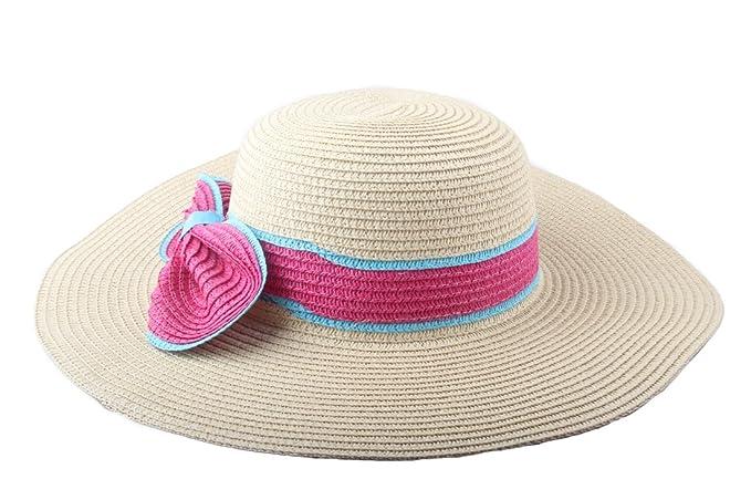 Dantiya - Cappello da sole - Donna rosa Taglia unica  Amazon.it ... 2fafec398fbf