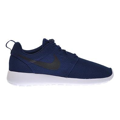 Nike Rosherun Men's Shoes Midnight Navy/Black White 511881-405