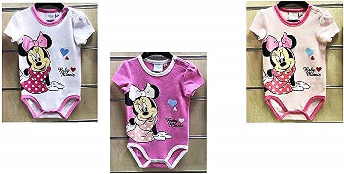 Lot De 2 Bodys Minnie Mouse B/éb/é Fille