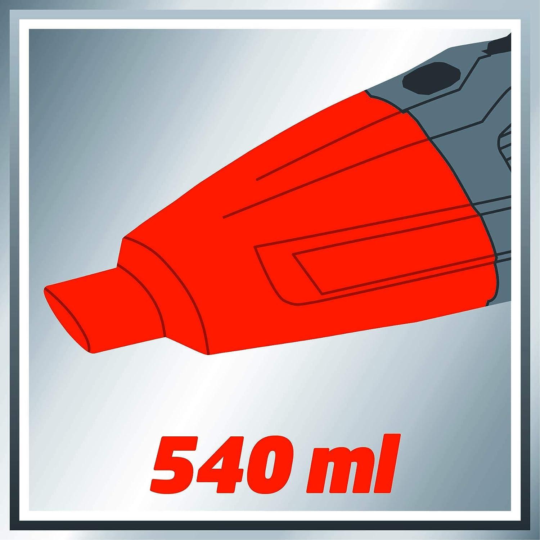 Rosso//Nero 254 mm Einhell CE-CB 18//254 Li Solo Lucidatrice per Auto Starter Kit Batteria e Caricabatterie Power X-Change