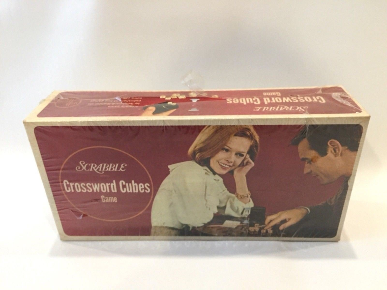 Scrabble Crosswords Cubes Game Vintage SelRight Family Game NEW Made In USA