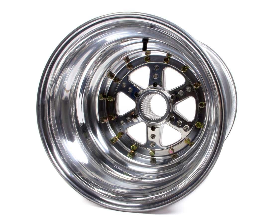 KEIZER ALUMINUM WHEELS, INC. DL15156SPIBL Splined Wheel Inner B/L 15x15 5in bs 42t