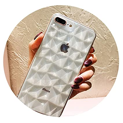 Amazon.com: Diamond Texture - Carcasa para iPhone 6, 6S, 7 ...