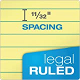 """TOPS The Legal Pad Writing Pads, 8-1/2"""" x"""