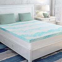 Mattress Topper Twin, Memory Foam Mattress Topper for Twin Size Bed, 3 Inch