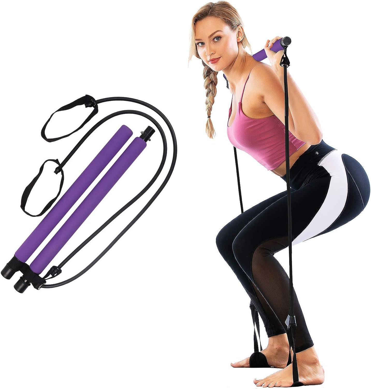 Barre Pilates débutant élastique fitness