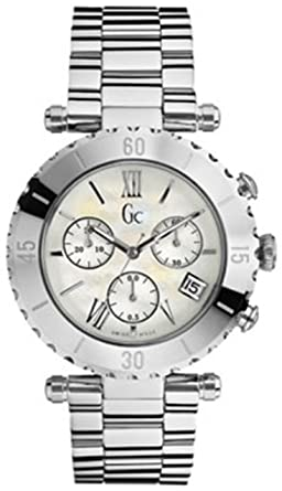 Damenuhren silber guess  Damen Uhren Gc GUESS 29002L1: Guess Collection: Amazon.de: Uhren