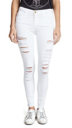 89fde73c1062c FRAME Women s Le Color Rip Skinny Jeans at Amazon Women s Jeans store