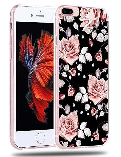 iphone 7 plus floral case