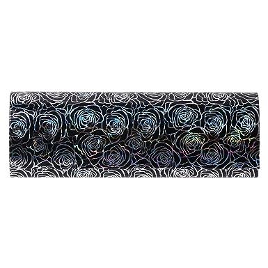Amazon.com: Caja de gafas de sol con forma de hrart negra y ...