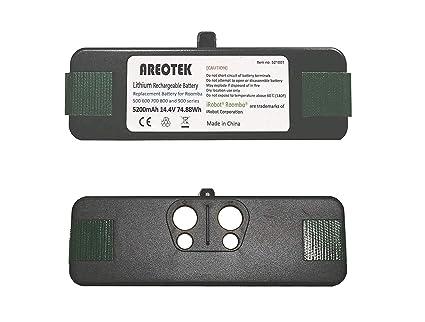 Areotek - Batería de Repuesto para iRobot Roomba R3 500 600 700 800 900 Series (