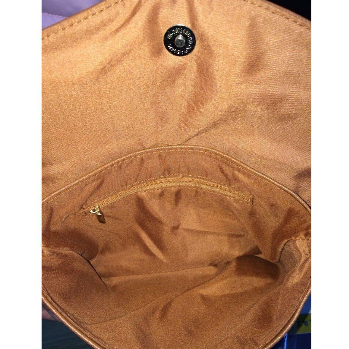 Heidi Bag Womens Envelope Satchel Zip Small Crossbody Shoulder Bag Purse