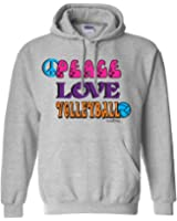 Sports Katz Womens 'Peace Love' VOLLEYBALL Hoodie