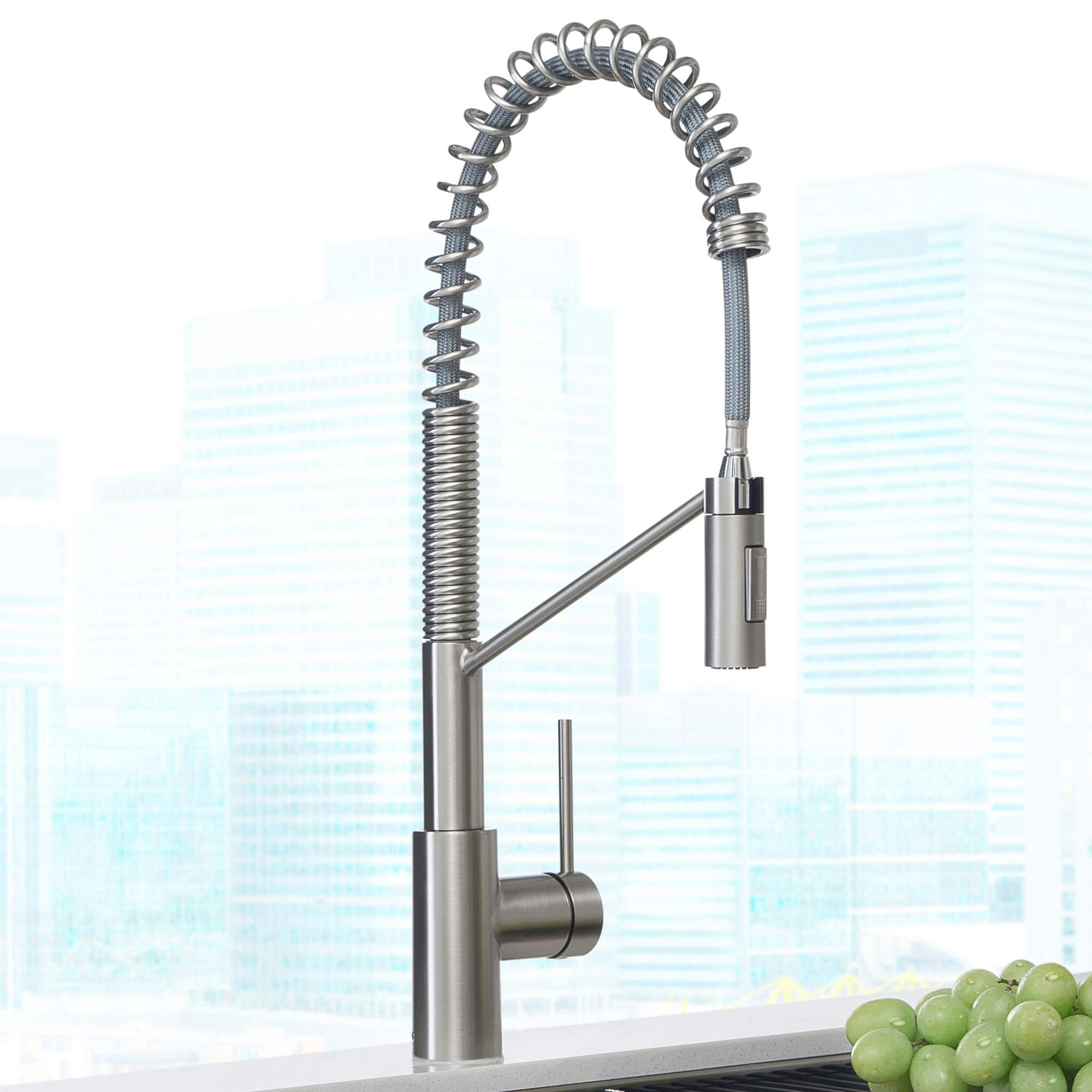 Kraus KPF-2631SFS Oletto Kitchen Faucet, 21.75 inch, Spot Free Stainless Steel by Kraus (Image #3)