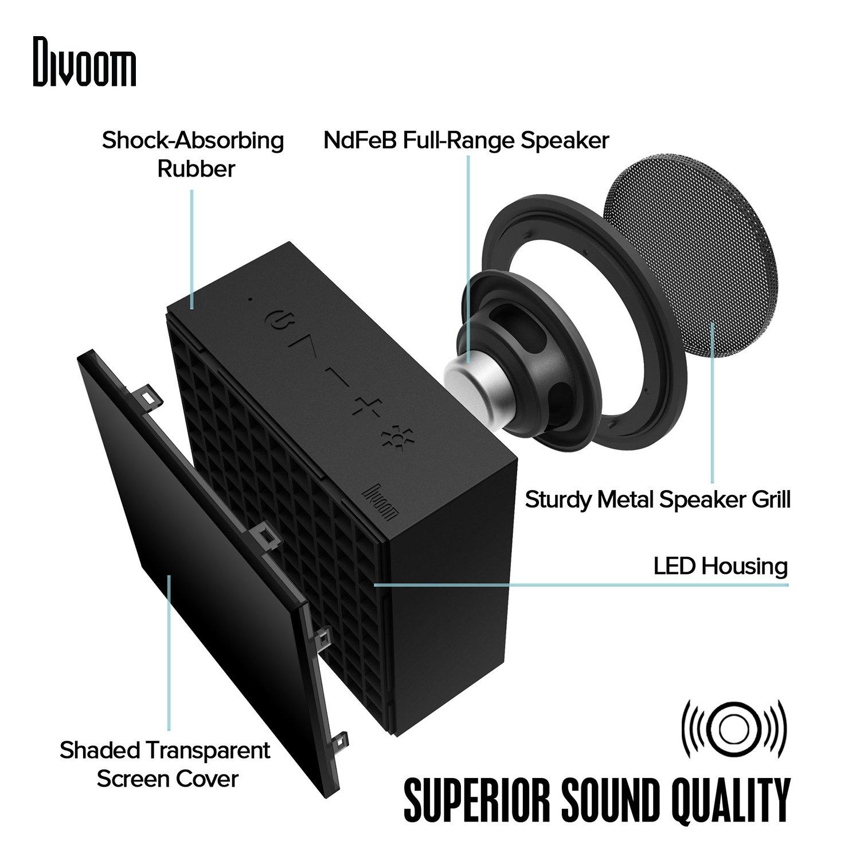 Divoom 23429 Aurabox Led Bt 4 0 Smart Lautsprecher