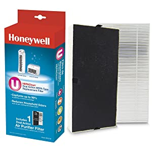 Honeywell Repl HepaClean Replacement Filter 1 Black