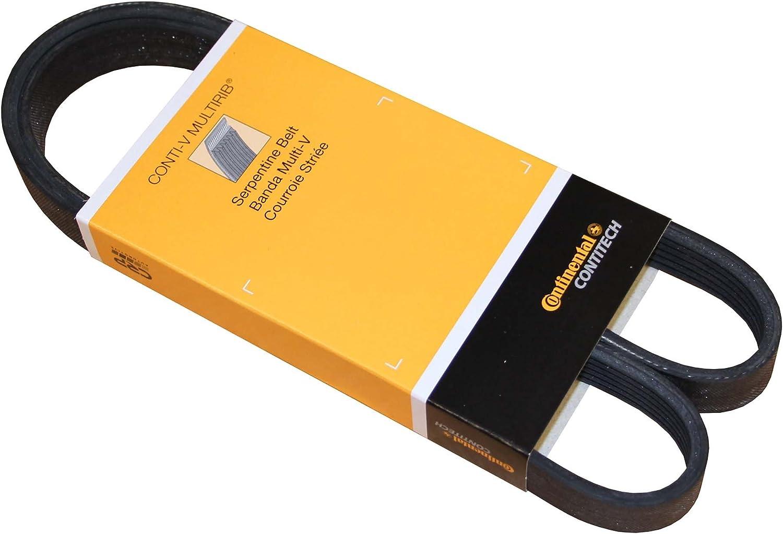 ACDelco 6K866 Professional V-Ribbed Serpentine Belt