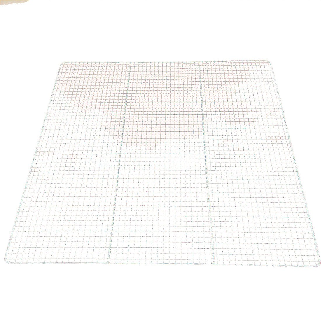 B&C.Room Stainless Steel Mesh Wire Steaming Cooling Barbecue Grills Racks Pan Grate Carbon Baking Net 34.530cm