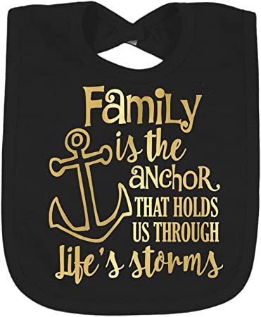 Amazoncom Family Quotes And Sayings Foil Toddler Bibs Select Foil